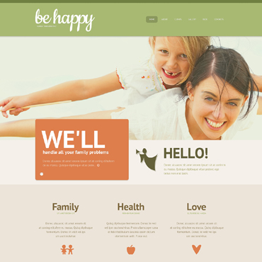 Family Center Responsive WordPress Theme
