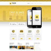 Taxi Drupal Template