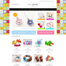 Jewelry Responsive Jigoshop Theme