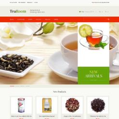 Tea Shop Responsive Magento Theme