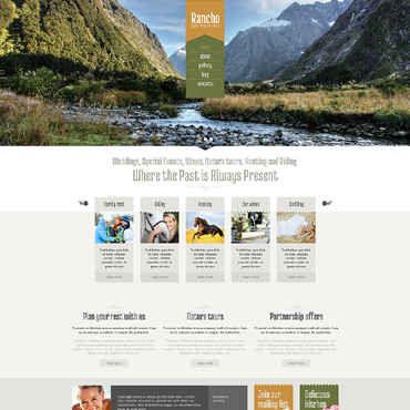 Travel Guide Responsive Drupal Template