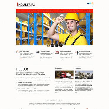 Mining Company Responsive Joomla Template