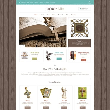 Catholic Church Responsive Jigoshop Theme