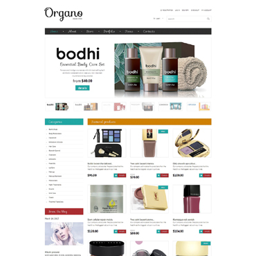 Cosmetics Store WooCommerce Theme