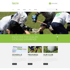 Field Hockey Responsive Website Template