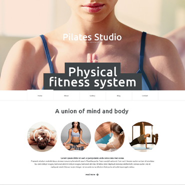 Yoga Responsive Website Template