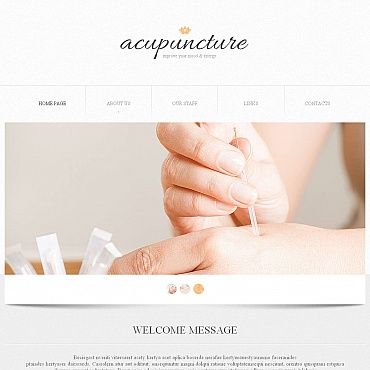 Massage Salon Moto CMS HTML Template