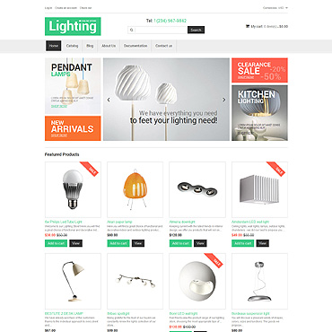 Interior Design Responsive Shopify Theme