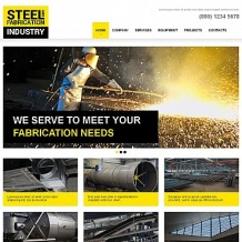 Steelworks Moto CMS HTML Template