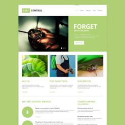 Pest Control Responsive Website Template