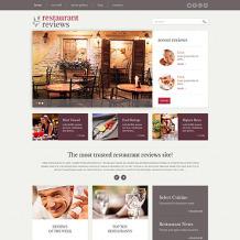 Restaurant Reviews Responsive WordPress Theme
