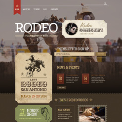 Horse Racing Responsive WordPress Theme