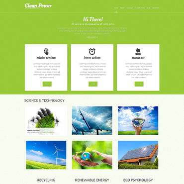 Alternative Power WordPress Theme