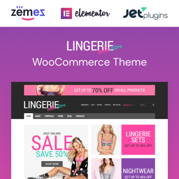Lingerie Responsive WooCommerce Theme