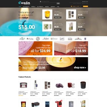 Crafts ZenCart Template