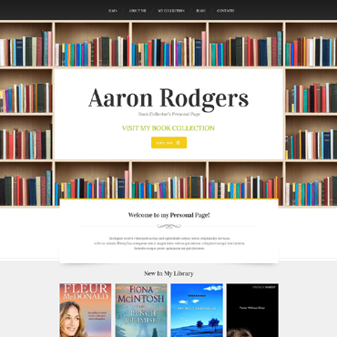 Book Reviews Drupal Template