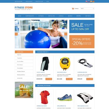 Fitness OsCommerce Template