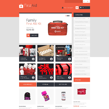 Ambulance Responsive PrestaShop Theme