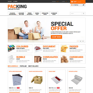 Maintenance Services Responsive PrestaShop Theme