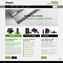 Computer Repair Responsive Website Template