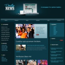 News Portal PSD Template
