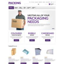 Packaging Responsive OpenCart Template