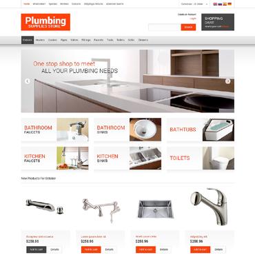 Plumbing OsCommerce Template