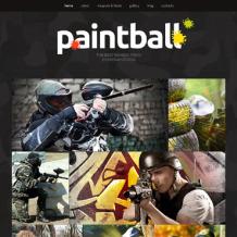 Paintball Responsive Joomla Template
