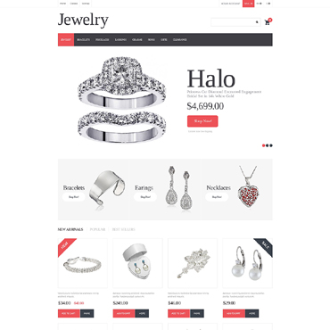 Jewelry PrestaShop Theme #50618