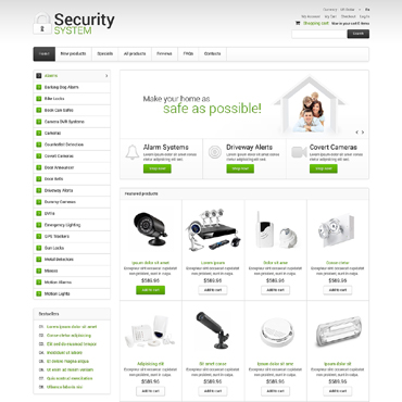 Security ZenCart Template