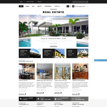 Real Estate Agency Responsive Shopify Theme