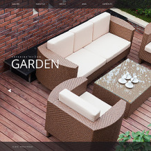 Garden Design Website Template