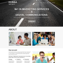 Marketing Agency Muse Template