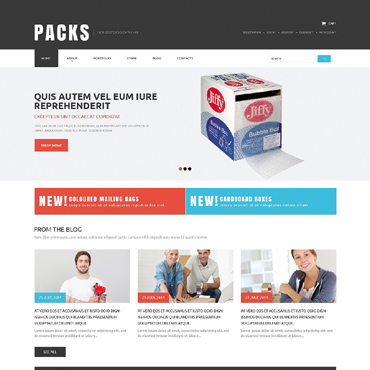 Packaging Responsive WooCommerce Theme