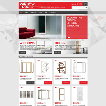 Window Responsive WooCommerce Theme