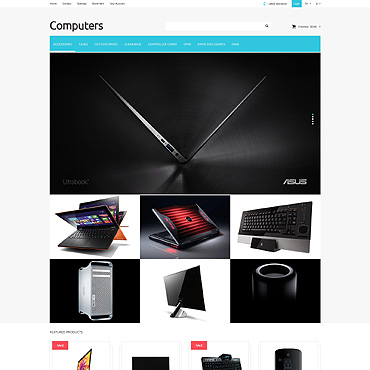 Computer Store PSD Template