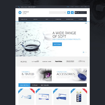 Optometrist's PrestaShop Theme