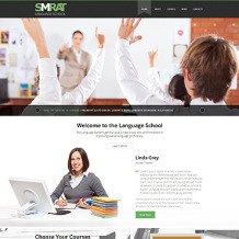 Language School Responsive Joomla Template