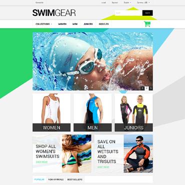 Swimwear Responsive PrestaShop Theme