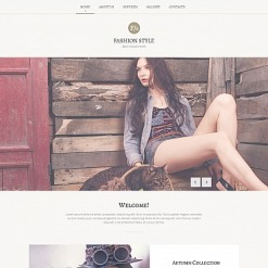Fashion Blog Moto CMS HTML Template