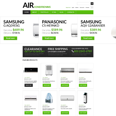 Air Conditioning Responsive WooCommerce Theme
