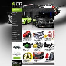 Auto Parts ZenCart Template