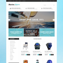 Yachting PSD Template