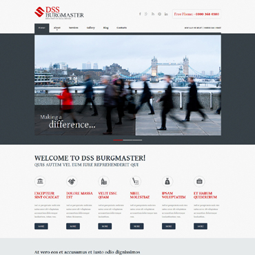 Society & Culture Responsive Joomla Template
