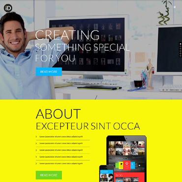 Design Studio Responsive Website Template #51194