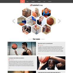 Basketball Responsive Joomla Template