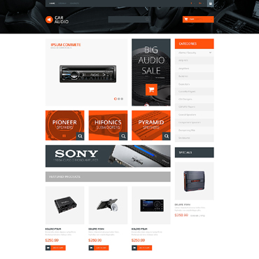 Audio Store Responsive PrestaShop Theme
