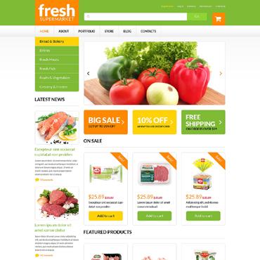 Food Store Responsive WooCommerce Theme