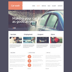 Car Wash Responsive Joomla Template