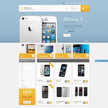 Mobile Store Responsive Shopify Theme